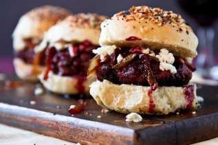 Port-Sliders-with-Goat-Cheese-and-Caramelized-Onions-from-The-Brewer-the-Baker