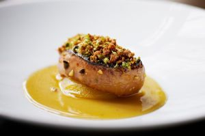Seared-foie-gras-with-compressed-apple